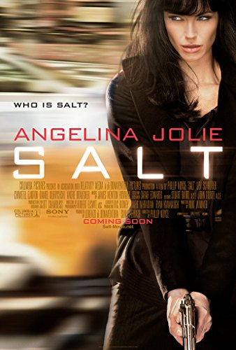 SALT MOVIE POSTER 2 Sided ORIGINAL 27x40 ANGELINA JOLIE (Salt Movie Poster compare prices)