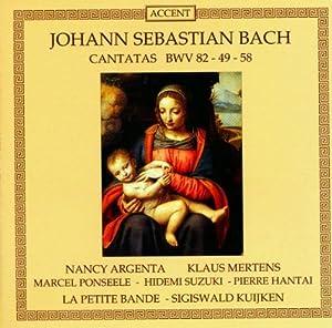 Bach: Kantaten BWV 82, 49, 58