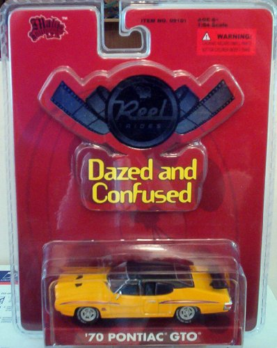 Dazed and Confused Reel Rides 1970 Pontiac GTO 1:64 Scale Die Cast Car - 1