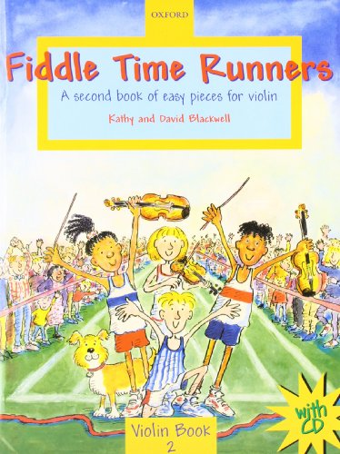 Fiddle Time Runners with CD: A second book of easy pieces for violin