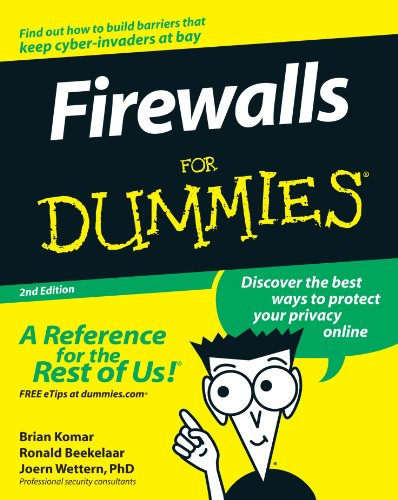 Firewalls For Dummies front-955324