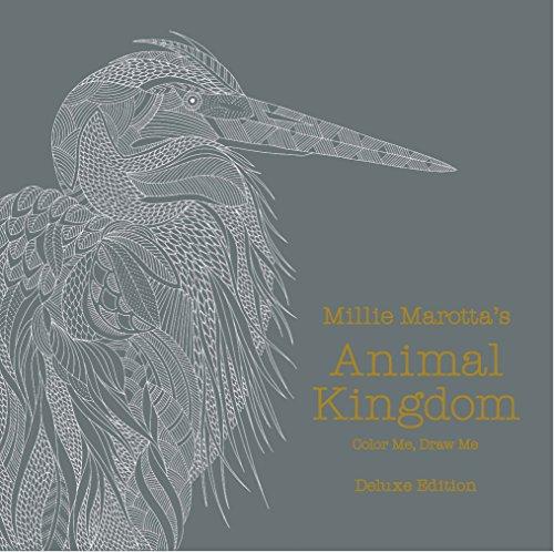 Millie Marotta's Animal Kingdom: Color Me, Draw Me (Millie Marotta Adult Coloring Book)
