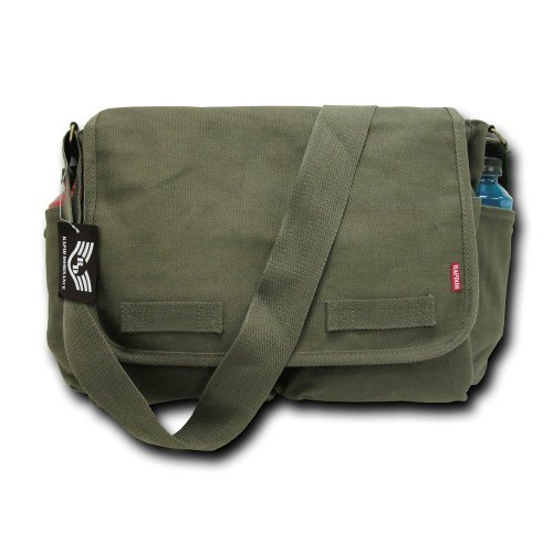Rapiddominance Classic Military Messenger Bags, Olive image