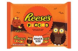 REESE\'S Pieces Candy Snack Size (11.2-Ounce Bag, Pack of 6)