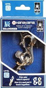 BePuzzled Hanayama Cast Metal Brainteaser Puzzles - Hanayama Seahorse Puzzle (Level 3)