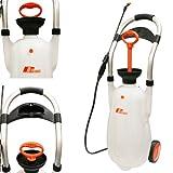 Rhays Eco Portable Pressure Jet Washer Wheeled Car Sprayer 16L 43 PSI