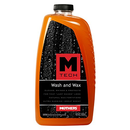 Mothers 25678 M-Tech Wash and Wax, 48 fl. oz. (Ice Car Wash compare prices)