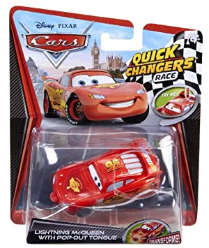 Mattel Disney / Pixar CARS 2 Movie 155 Quick Changers Race Lightning McQueen with PopOut Tongue at Sears.com