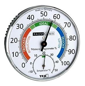"""Hygromètre de Précision """"Klimatest"""" chrome"""