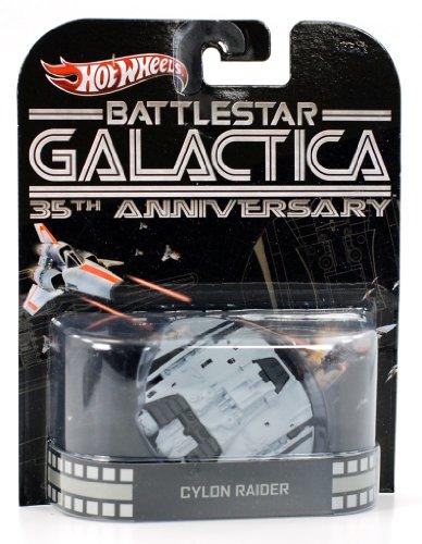 "Hot Wheels ""Battlestar Galactica"" Cylon Rider 35th Anniversary 1:64 Scale - 1"