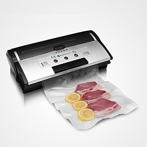 Vacuum Sealer, Automatical Food Vacuum Seal Machine-Ideal for Food Preservation,Commercial continuous vacuum packing machine-Spacy Grey (Commercial Vacuum Sealing Machine compare prices)