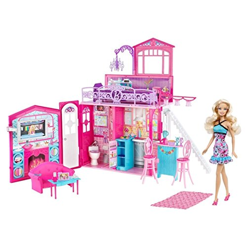 Barbie Glam House & Doll Set by Mattel (Glam House compare prices)