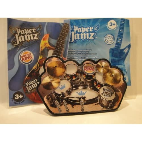 Amazon.com : Paper Jamz: Burger King Toy : Other Products : Everything