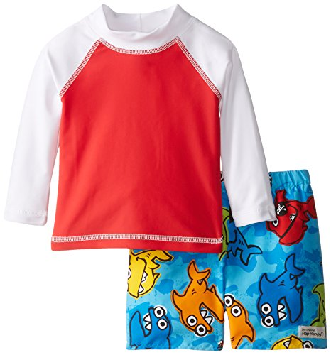 Flap happy baby boys 39 rash guard swim top with diaper set for Baby rash guard shirt