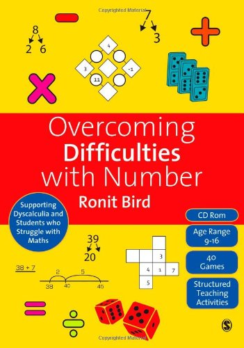 Overcoming Difficulties with Number: Supporting Dyscalculia and Students who Struggle with Maths (Book & CD)