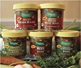 Vogue Cuisine Vegetable Soup & Seasoning Base 4oz (Vegebase, Vege Base) - Low Sodium, Gluten Free, All Natural Ingredients