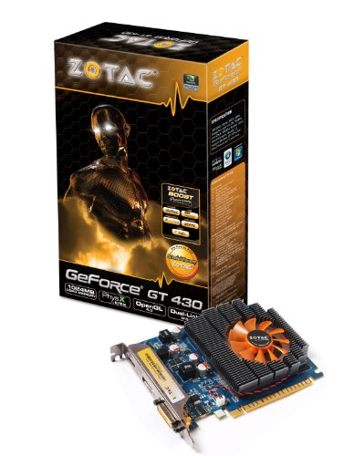 Zotac GT 430 Graphics Card (1GB, with DDR3 memory)
