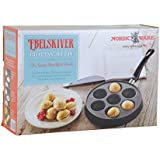 Ebelskiver Filled Pancake Pan + The Great Breakfast Book by Nordic Ware