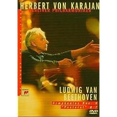 Karajan - Beethoven : Symphonies 6&7 - DVD