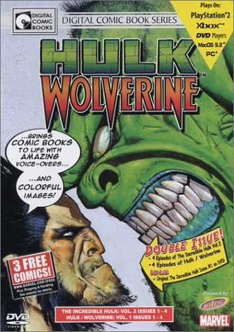 Cover art for  Hulk/Wolverine - Vol 1 (DVD Graphic Novel)