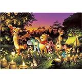 Tenyo Japan Jigsaw Puzzle D-1000-270 Disney Winnie-the-pooh (1000 Pieces)
