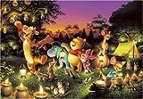 1000ピース 森のキャンドルパーティー <光るジグソー> D-1000-270