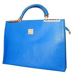 StonKraft Womens Handbag (Black) (FxLthrBrwnBag120)