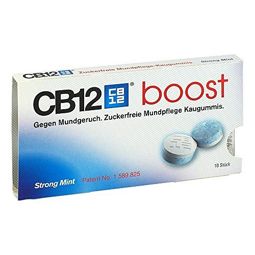 CB12 Boost Chewing Gum, 10 St