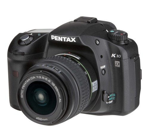 Pentax K10D (with 18-55mm Lens)