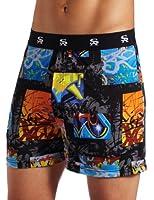Stacy Adams Men's Regular Geometric Boxer Short