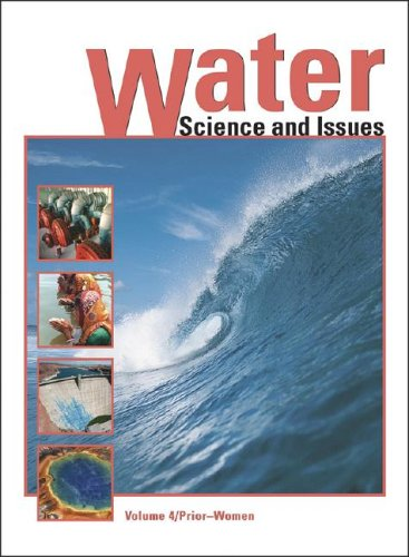 Water Encyclopedia: Science and Issues