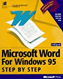 img - for 95 Windows Step by Step book / textbook / text book