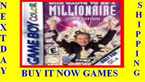 Who Wants to Be a Millionaire - Game Boy Color