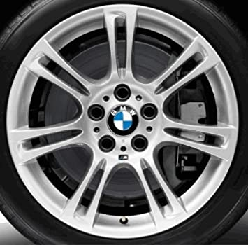 "BMW Genuine 9Jx18"" M Double-Spoke 350 Rear Alloy Wheel Rim (36 11 7 842 651)"