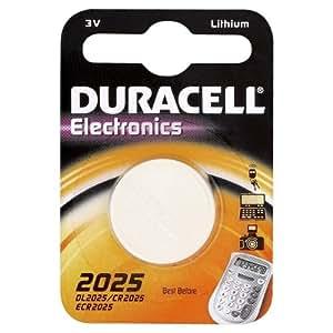 Duracell Knopfzelle Lithium Batterie (CR2025 D)