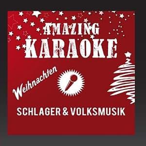 Weihnachten - Schlager & Volksmusik (Karaoke)