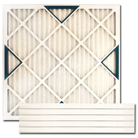 """12 Pack of 12/"""" x 12/"""" x 1/"""" Disposable Polyester Furnace Air Filter MERV 6,"""