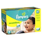 Pampers Swaddlers Diapers Size 4 Economy Pack Plus 144 Count by American Health & Wellness