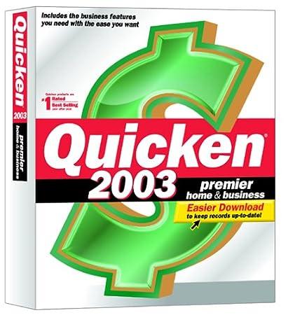 Quicken 2003 Premier Home & Business