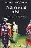 echange, troc Marion Laval-Jeantet - Paroles d'un enfant du Bwiti : Les enseignements d'Iboga