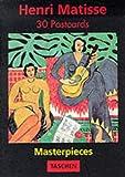 echange, troc  - Henri Matisse: Masterpieces 30 postcards