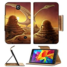 buy Samsung Galaxy Tab 4 7.0 Inch Flip Pu Leather Wallet Case Strange Surreal Scene Painted By Myself Itu00B4S Named Points Of View And It Shows Image 11014577 By Msd Customized Premium