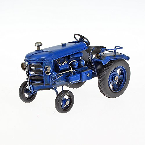 Metal Model Small Approximately 15cm x 9cm x 8cm blue