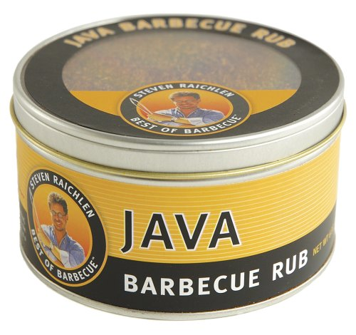 Steven Raichlen SR8057 6-Ounces Barbecue Rub, Java
