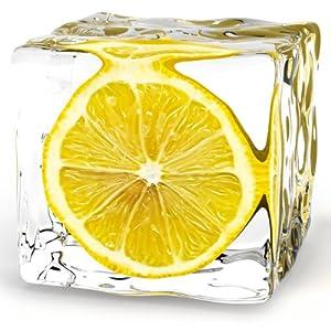 Amazoncom Platin Art Glass Wall Decor Art Iced Lemon 8