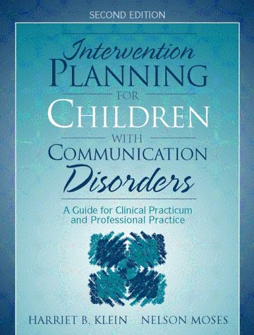 Intervention Planning for Children with Communication...