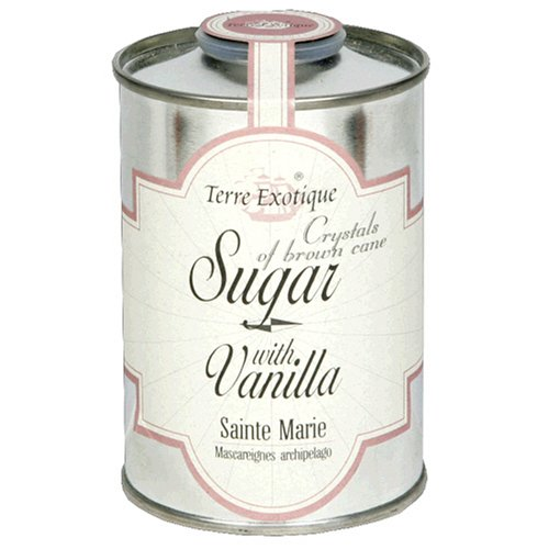 Buy La Terre Exotique Brown Cane Sugar, Vanilla, 8.9-Ounce Tin