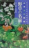 野草の名前 夏—和名の由来と見分けかた (山渓名前図鑑)