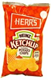 Herr's Ketchup Flavored Potato Chips, 3.5 Ounce (Pack of 16)