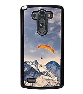 Paragliding in Mountains 2D Hard Polycarbonate Designer Back Case Cover for LG G3 :: LG G3 Dual LTE :: LG G3 D855 D850 D851 D852